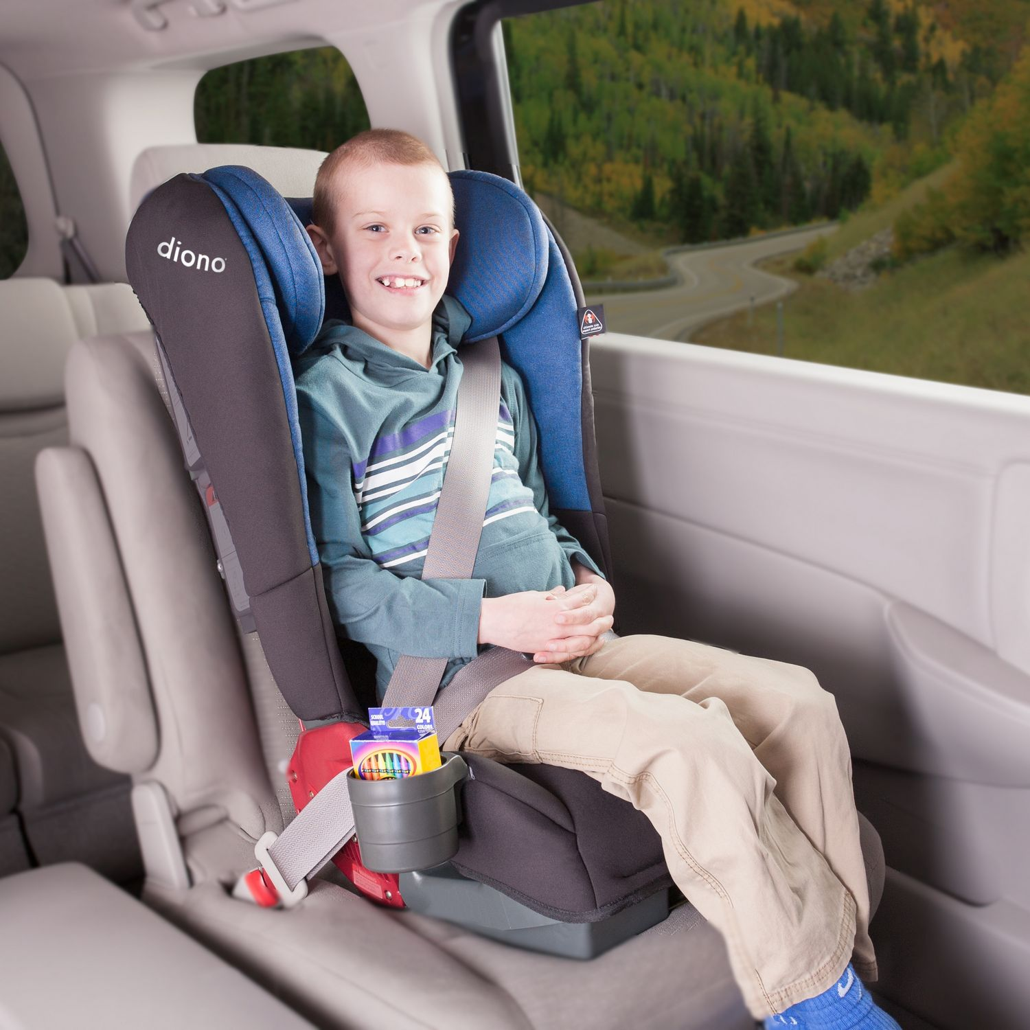 Rainier Convertible + Booster Car Seat – Stanford Distributing