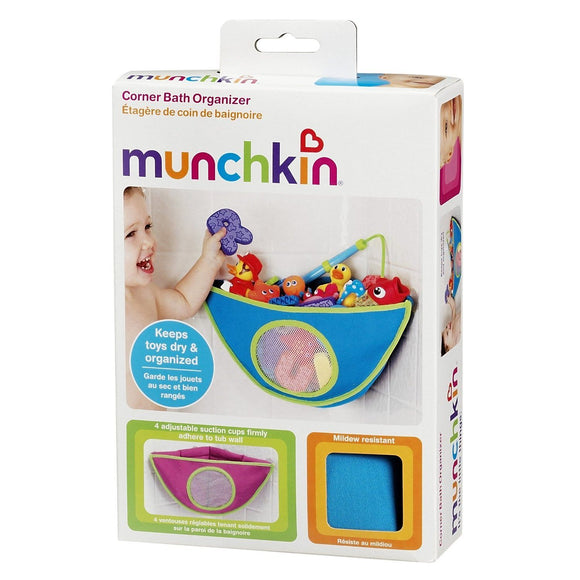 Munchkin Corner Bath Organizer - Assorted Colors