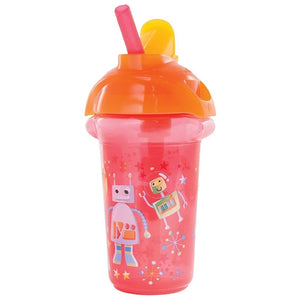 Munchkin Click Lock Decorated Flip Straw Cup 9oz - Assorted Prints