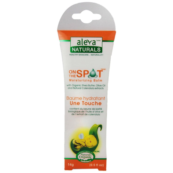 Aleva Naturals On The Spot Moisturizing Balm - 14g