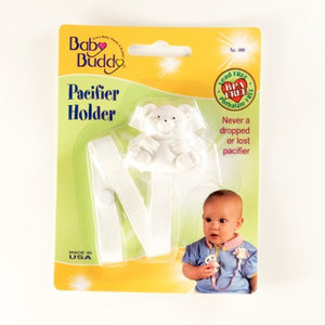 Baby Buddy Bear Pacifier Holder - Assorted Colors