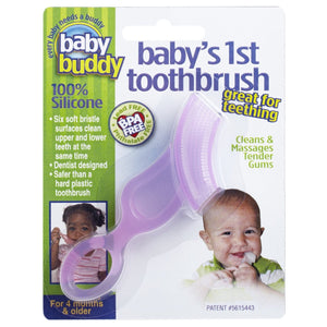 Baby Buddy Baby's 1st Toothbrush - Assorted Colors