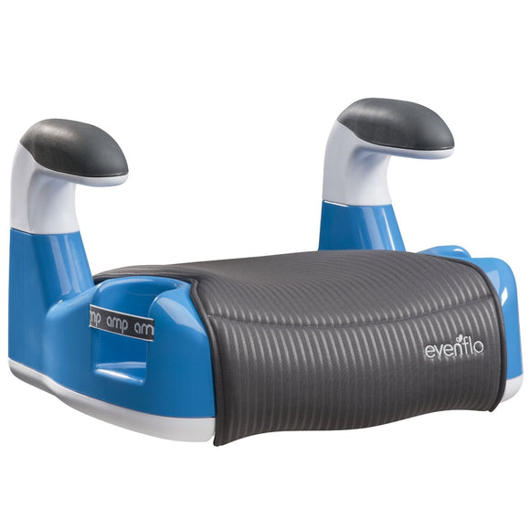 Evenflo Amp Performance No Back Booster Car Seat - Blue