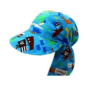 Flap Happy Original Flap Hat Poplin, Assorted Prints