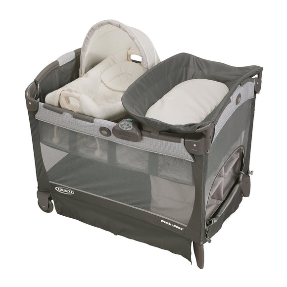 Graco Pack 'N Play Playard with Cuddle Cove - Glacier