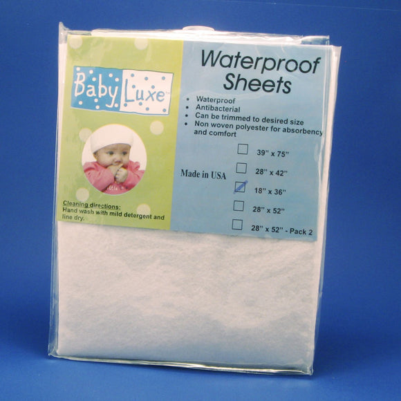 Babyluxe Waterproof Sheeting for Bassinet/Cradle - 18