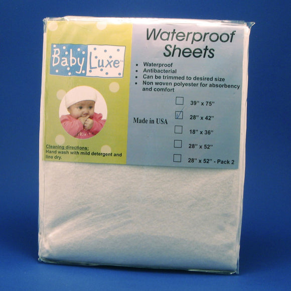 Babyluxe Waterproof Pack n Play Sheet - 28