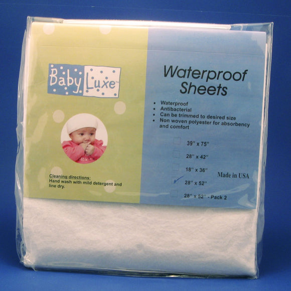 Babyluxe Waterproof Crib Sheet - 28