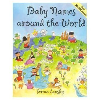 Baby Names Around World Book