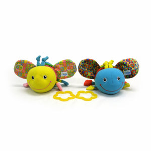 Learning Curve Baby Wiggles Pals - Asst Colors