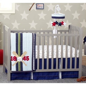 Just Born 3 pc Crib Bedding Set