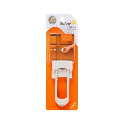 Safety 1st Cabinet Slide Lock , White - 2pk