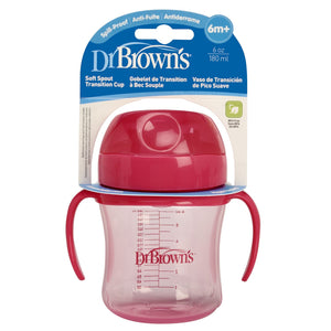 Dr. Brown's Soft-Spout Transition Cup, 6oz - Assorted Colors