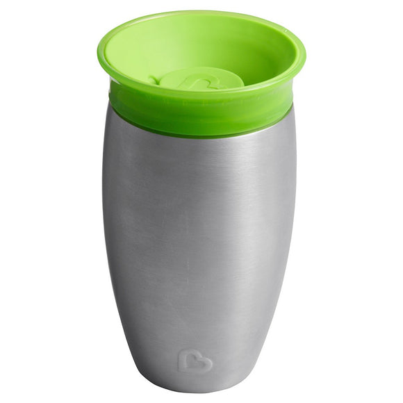 Munchkin Miracle Stainless Steel 360 Sippy Cup - Colors May Vary