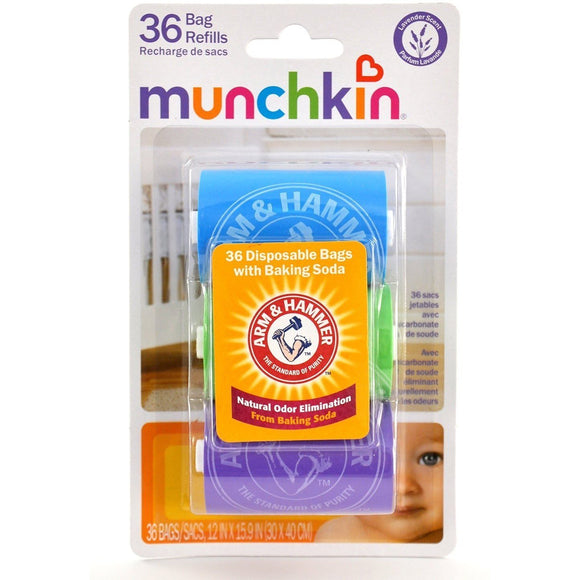 Munchkin Arm and Hammer Diaper Bag Refills