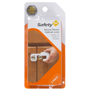 Safety 1st Secure Mount Cabinet Lock - 2pk