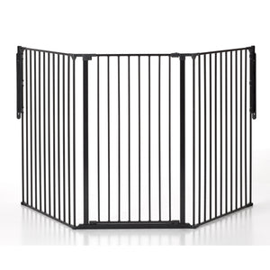 "BabyDan FLEX Large (35.4""-87.8"") Extra Tall (41"") Safety Gate - Black"