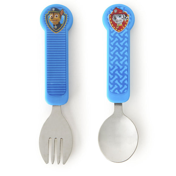 Munchkin PAW Patrol Toddler Fork and Spoon Utensil Set