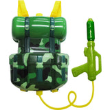 MiliStar Little Soldier Backpack Water Gun