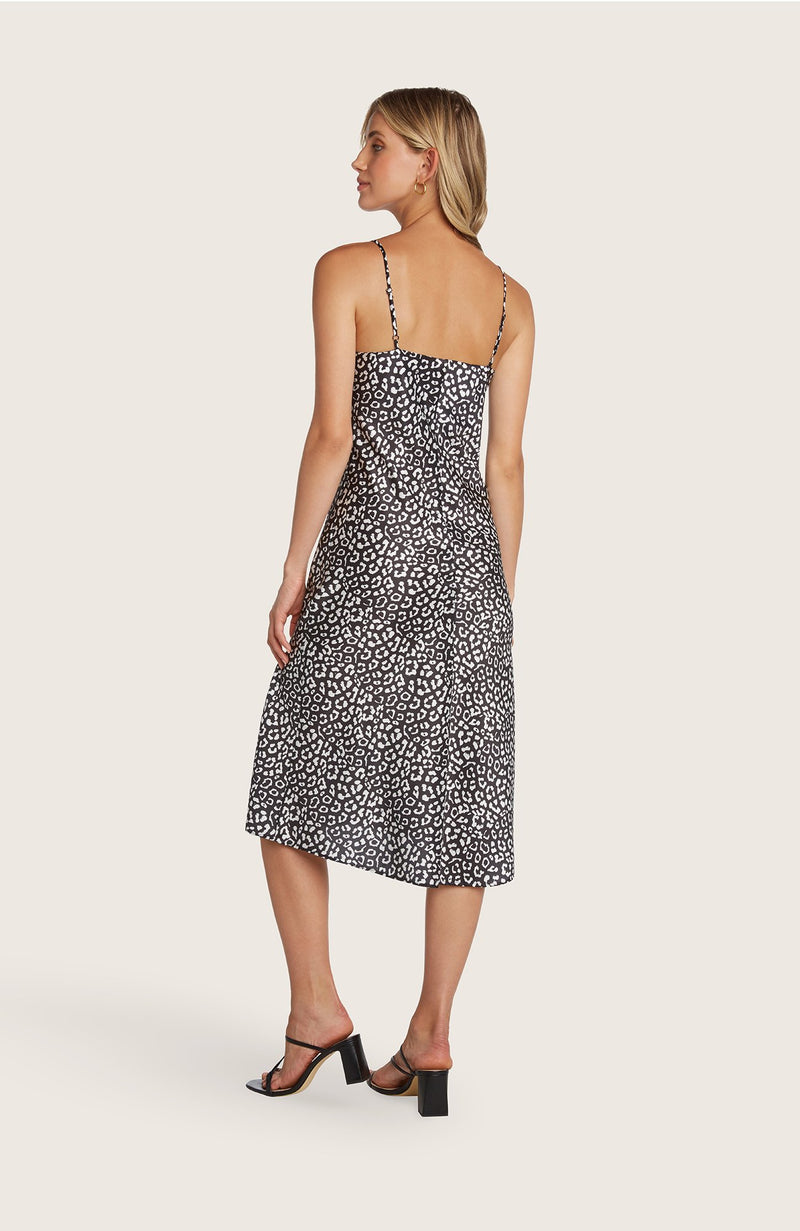Willow-paige-dress-slip-silky-leopard-black-white-champagne-beige-vneck-adjustable-straps-spaghettistraps-midi-length-high-slit