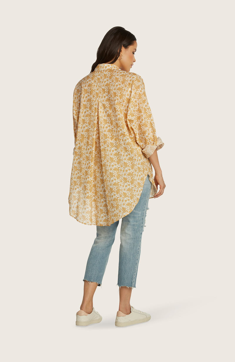 willow-eleanor-shirt-tunic-oversized-button-down-top-honey-orange-yellow
