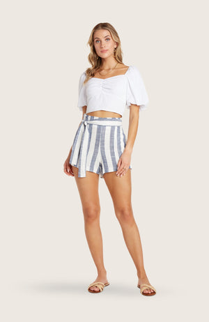 willow-johnny-short-high-waisted-linen-removable-belt-striped-indigo-blue-white