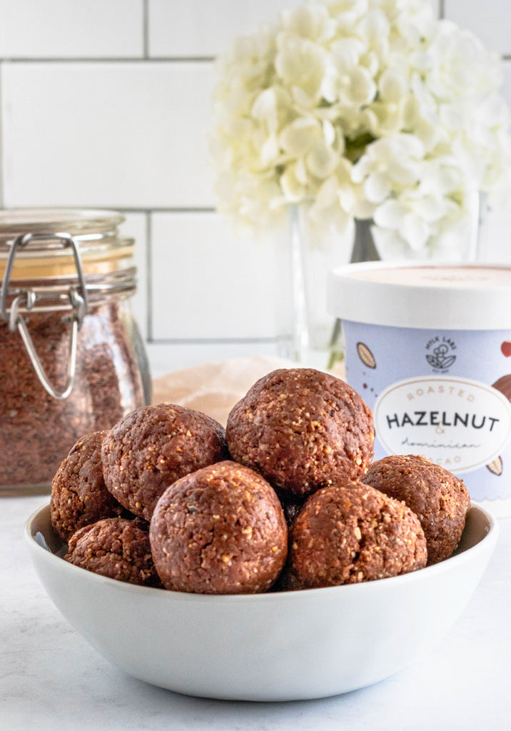 Hazelnut Energy Balls