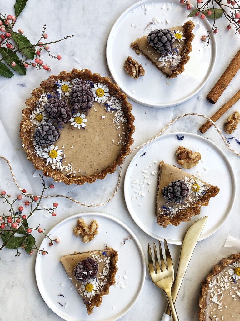 Holiday Favorite: Vanilla-Cardamom Walnut Tartlets