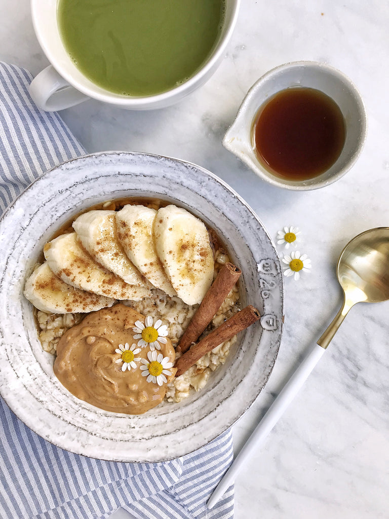 The Inspiration Behind Mylk Labs: Peanut Butter Banana Oatmeal + Recipe!