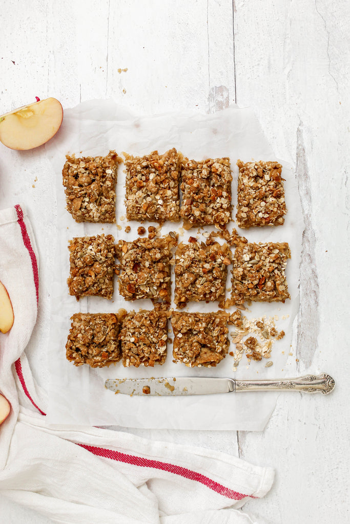 Apple Crumble Bars by @tasty_treat_pantry