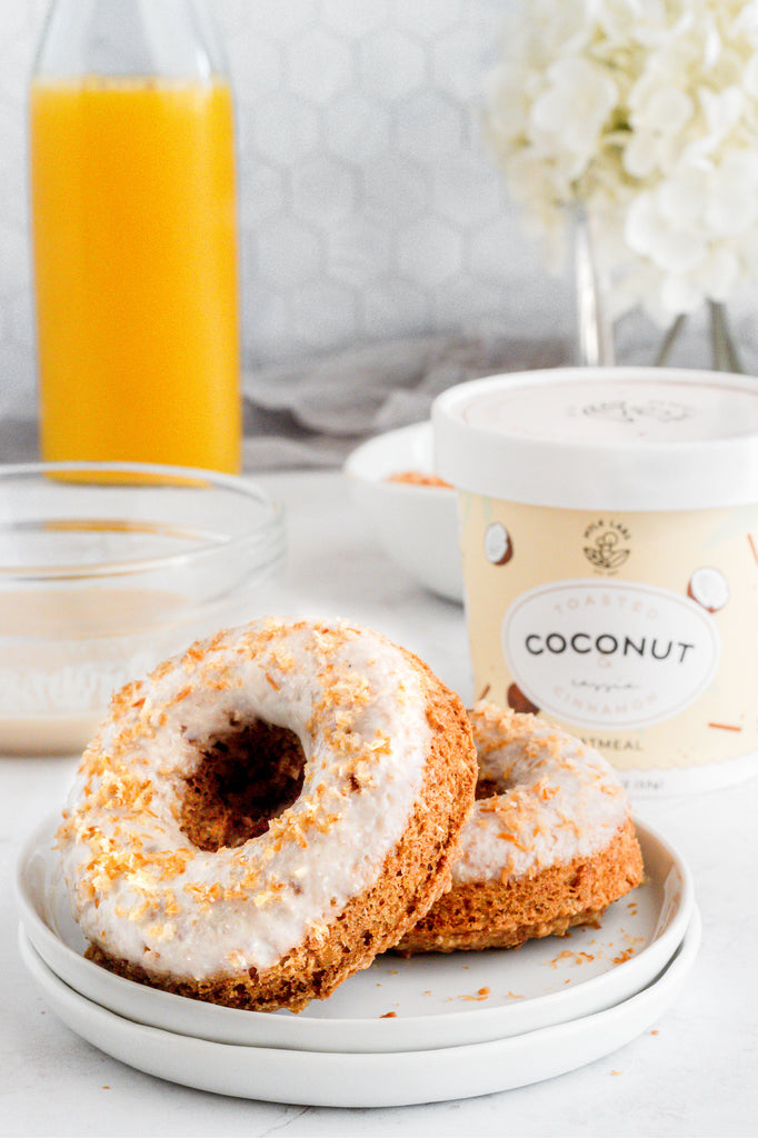 healthy low fat baked donuts coconut recipe easy