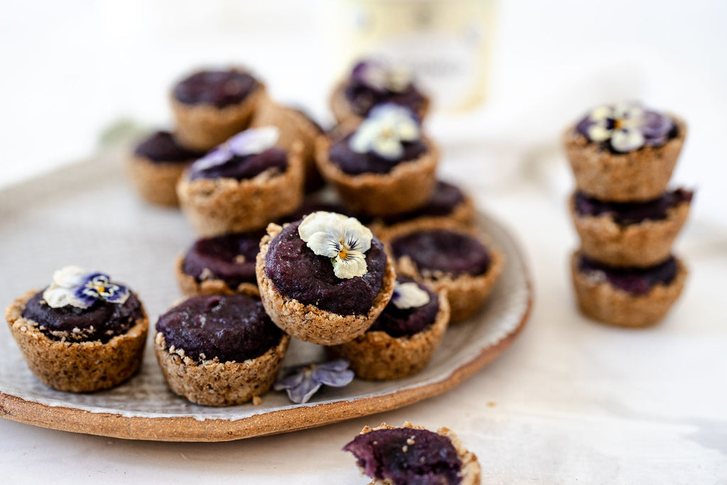 vegan ube cookie cups recipe