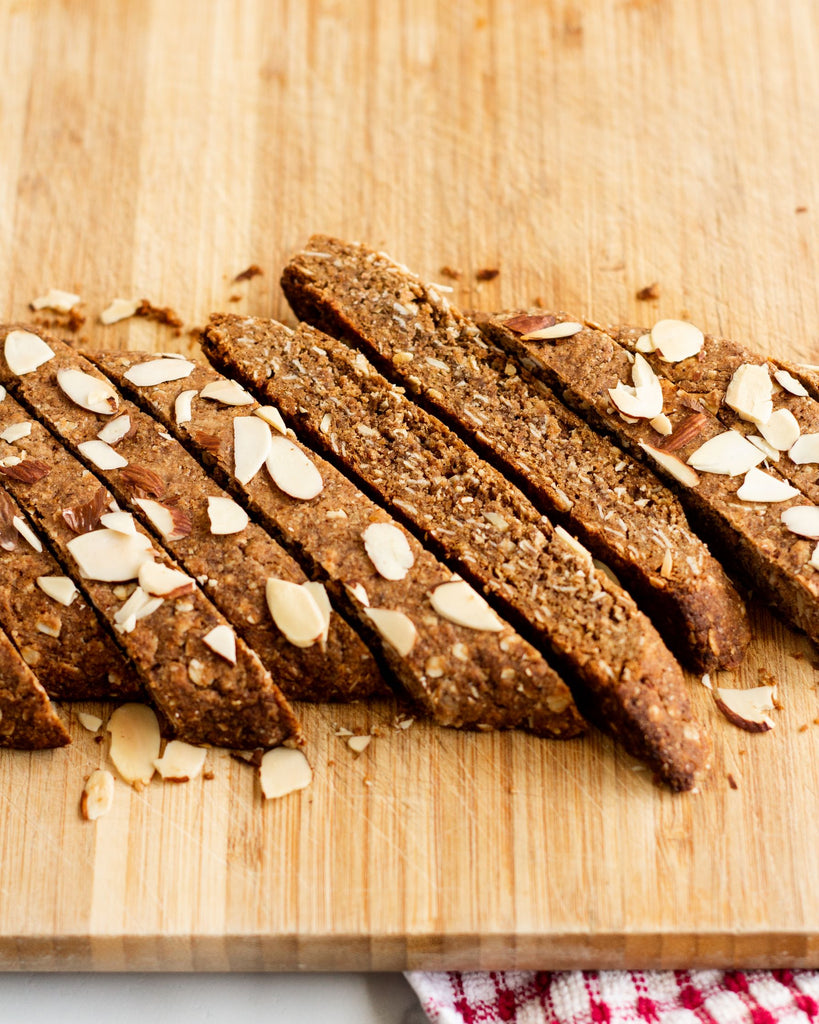 whole wheat biscotti recipe vegan