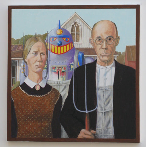 American Gothic 1930, After Grant Wood