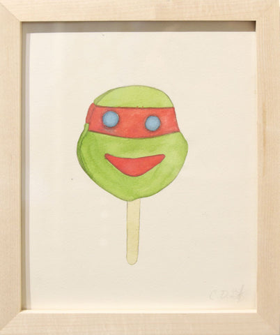 "Charlotte Goff - ""Ninja Turtle Ice Cream Bar"""