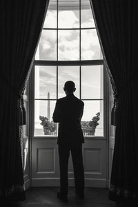 President Obama (Window), Washington D.C., August 5, 2016