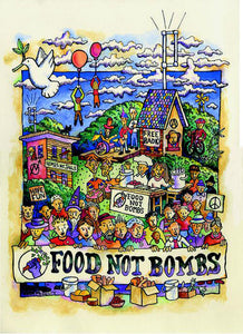 "Keith McHenry - ""Food Not Bombs"""
