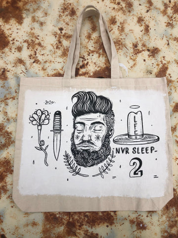 Never Sleep Tote Bag