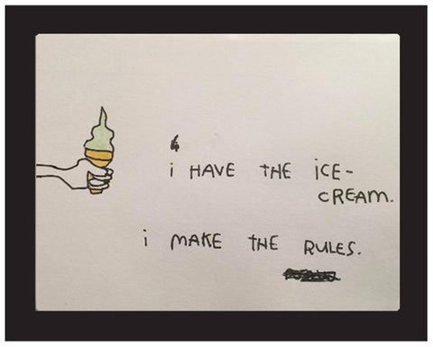 "Kalen Dawson - ""I Have the Ice Cream, I Make the Rules"""