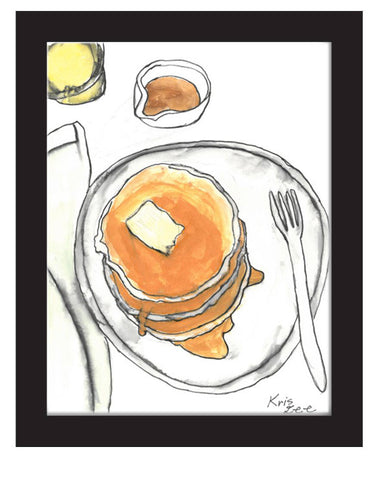 "Artists of L.A. Goal - ""Buttermilk Pancakes"" by Kris Lee"
