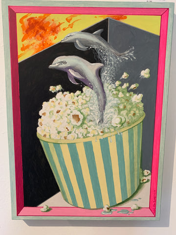 Popcorn Surprise #9 (Dolphins)