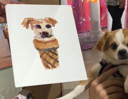Ice Cream Portrait: Doggie