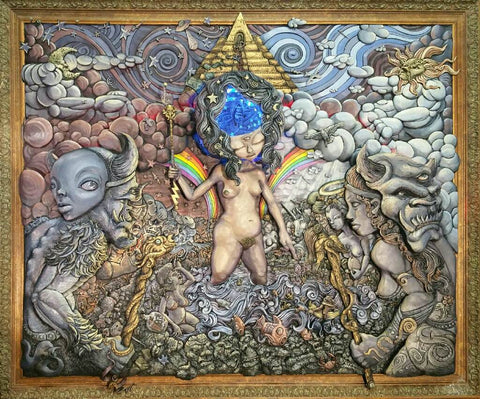 """Gaia and the Birth of the New King"""