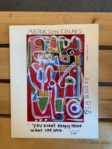 """Abstraction Cellars"""