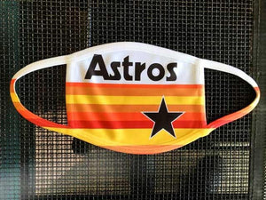 Houston Astros Throwback Mask