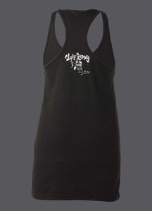 Be Someone womens racer back tank top available in pink and black