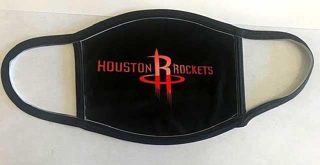 Houston Rockets black mask