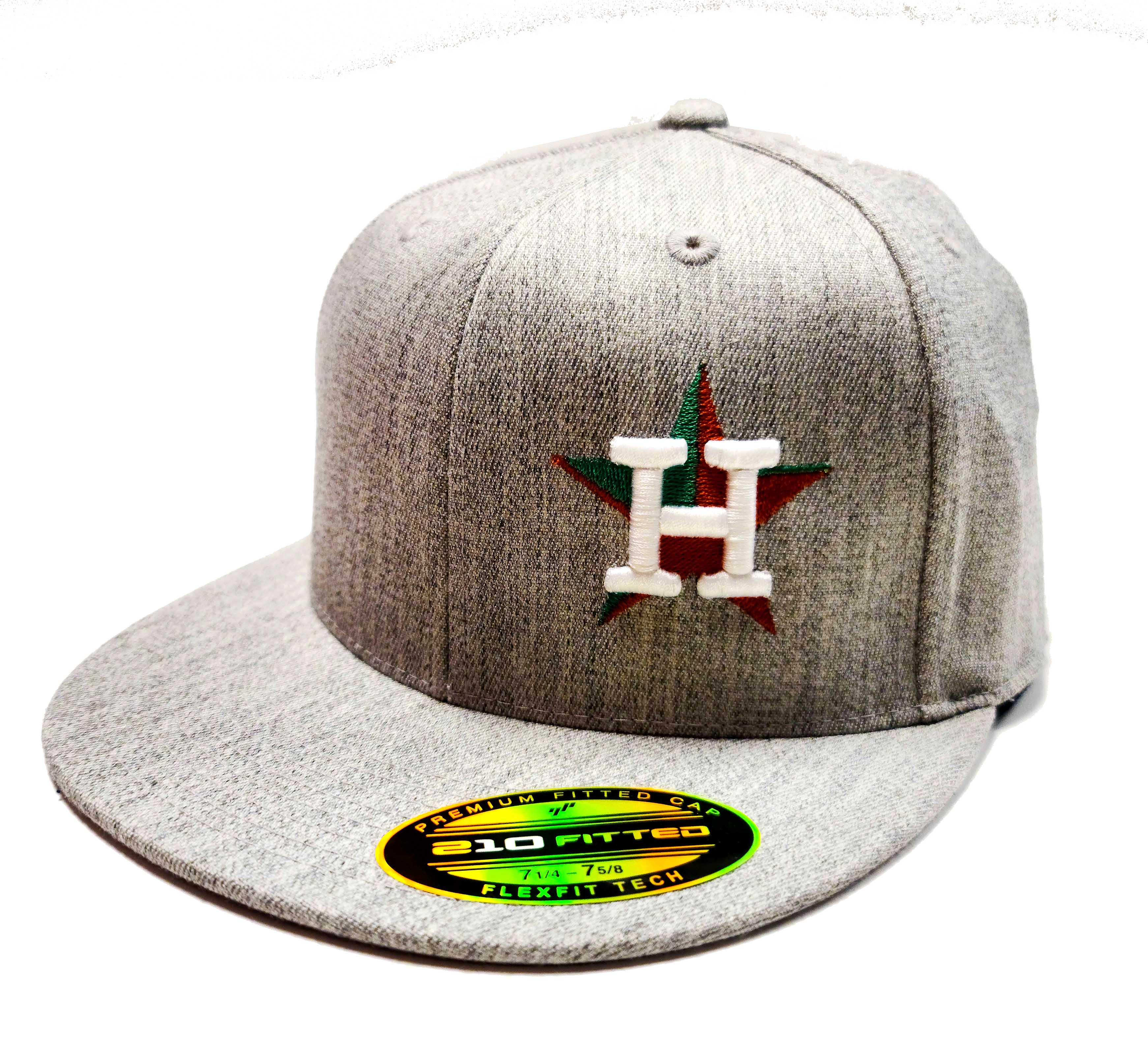 Houston Astros Semi Fitted Cap with Mexican Flag