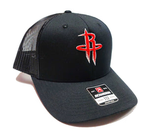 Houston Rockets Drip Logo trucker cap