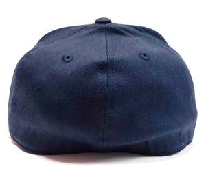 Los Astros navy Blue Flexfit 6210 cap back view